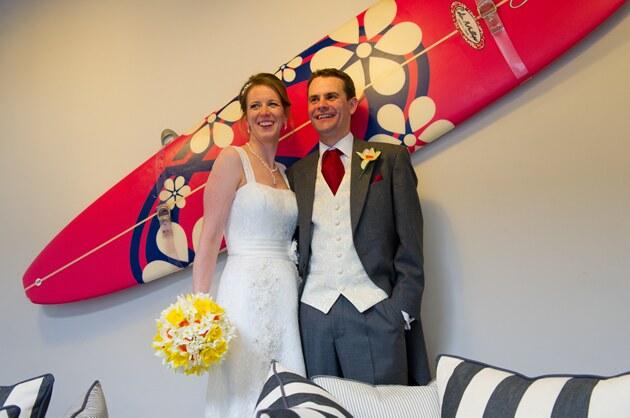 contemporary wedding photography Cornwall