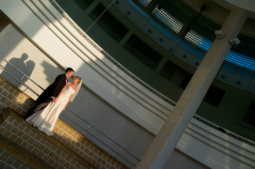 Wedding photography at St Ives Tate gallery