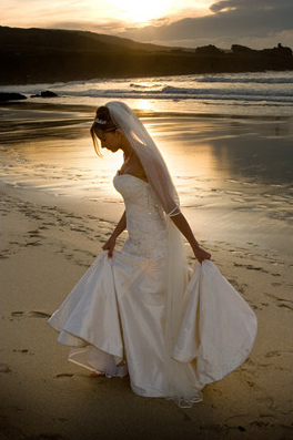 Wedding dress photographed by Pervaiz Shah