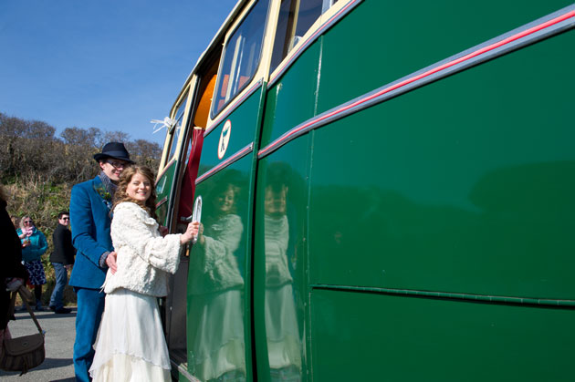 wedding transport in Cornwall King Harry Coaches