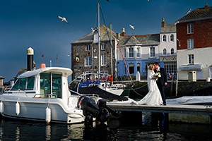wedding at Rock then Padstow by Cornwall wedding photographer Pervaiz Shah of photographers Shah Photography