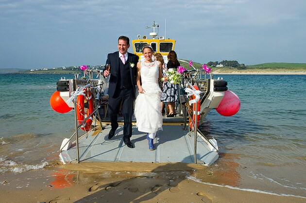 Cornwall photographers Wedding by the sea Padstow Cornwall