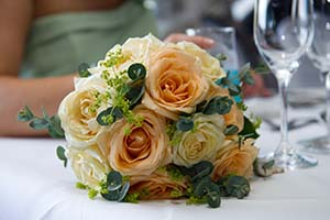 brides bouquet photograph by Shah Photography