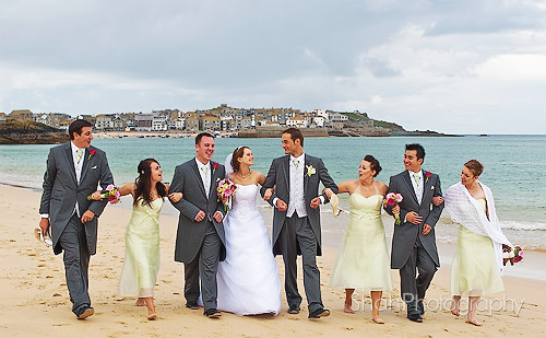 wedding photographer tregenna castle st ives cornwall