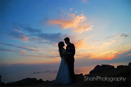wedding photographer rock in cornwall