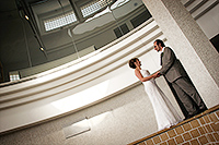 Wedding photograph of Marie and Guy taken at the Tate gallery in St Ives