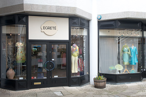 bridal fashions Truro Cornwall by Egrete