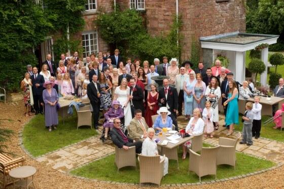 wedding photographer Boscundle Manor