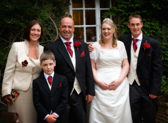 family wedding photographer Boscundle Manor, St Austell Cornwall