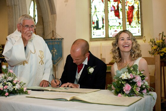 wedding Hayle in Cornwall