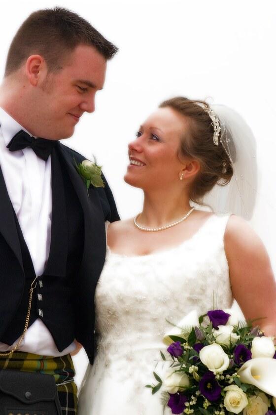 bride and groom reportage wedding photograph enjoying their wedding day