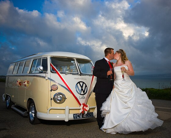 VW campervan photography in Cornwall by Shah Photography