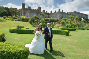 wedding photography Tregenna Castle St Ives Cornwall